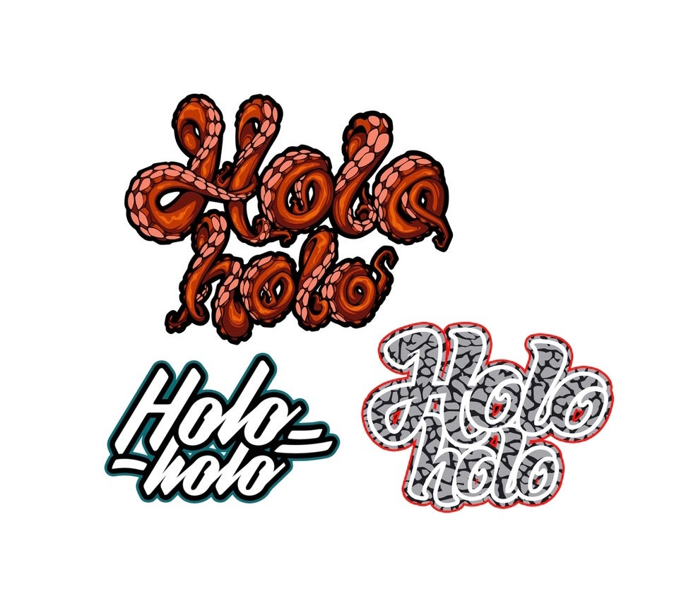 Image of Holo Holo mini Sticker pack