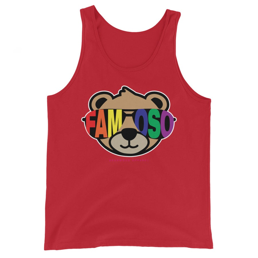 Image of FAMOSO PRIDE TANK - Red