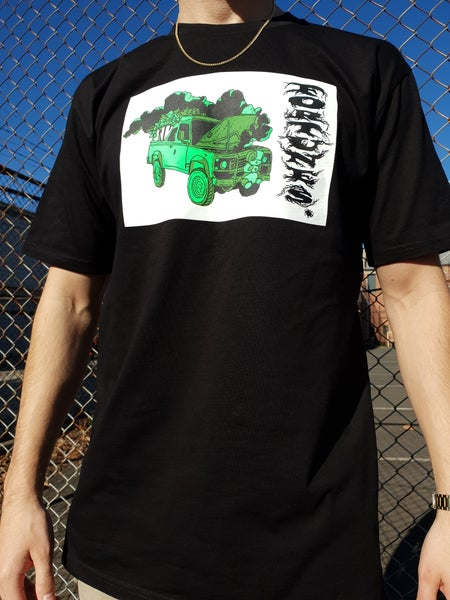 Image of Fortunes. Truck T-shirt (Black)