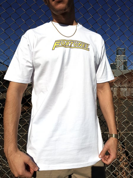 Image of Fortunes. Logo T-Shirt (White)