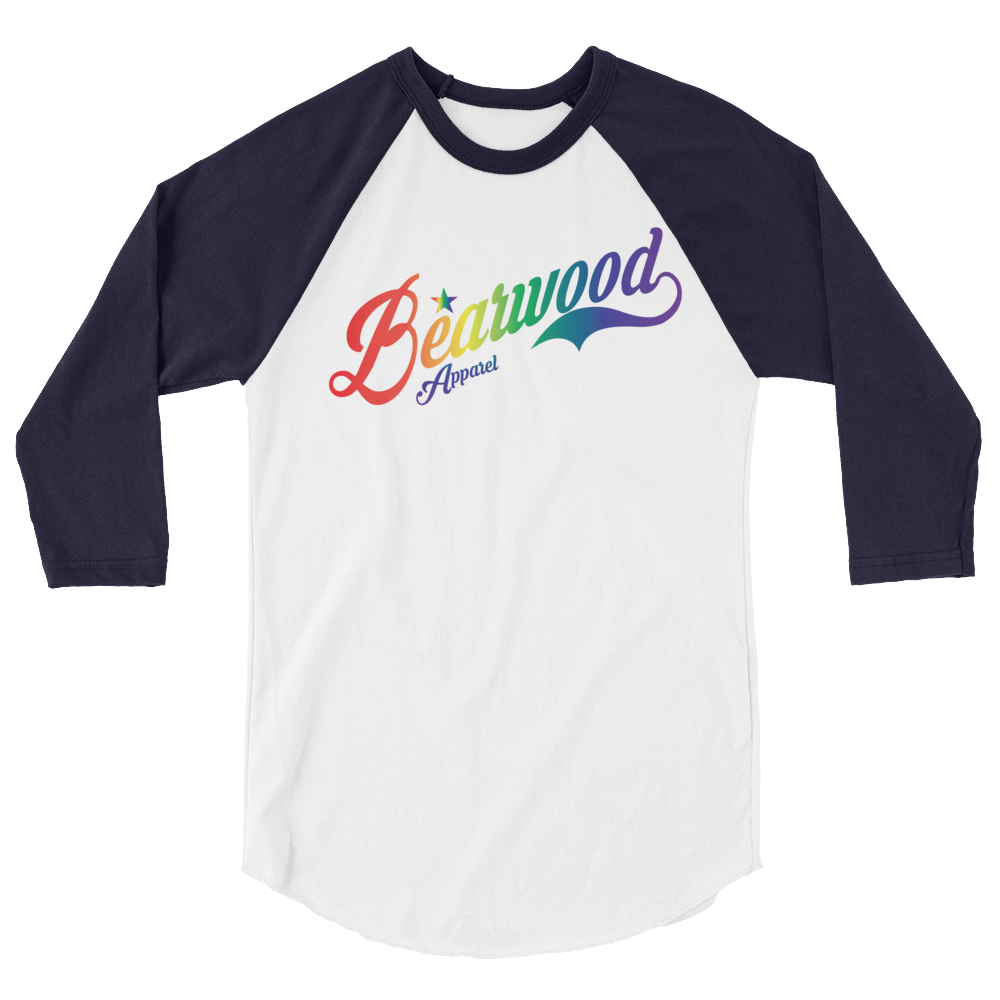 Image of BW Pride Logo BBT - Navy/White