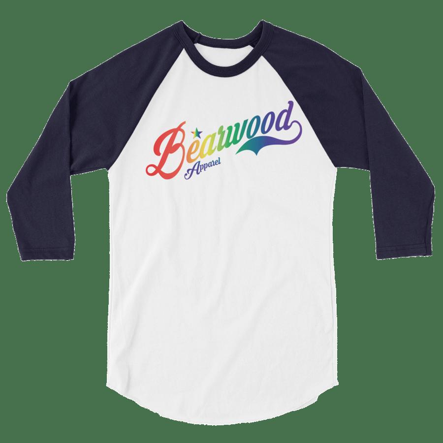 Image of BW Pride Logo BBT - Navy/White