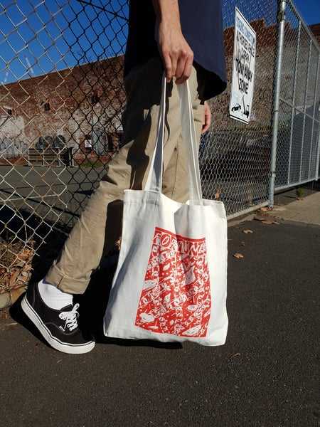 Image of Fortunes. Chains Tote Bag (Cream)