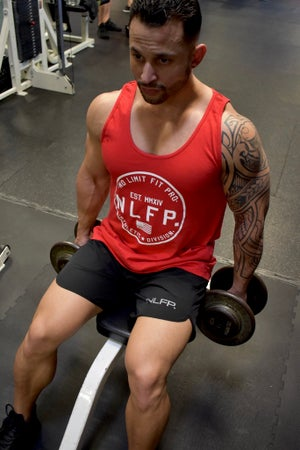 Image of LIMITLESS TANK TOP RED