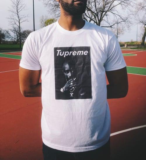 Image of OG Tupreme white t-shirt