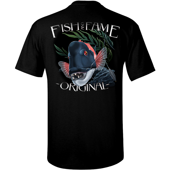 Image of California Sheephead  Tee (black)