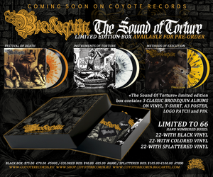 Image of BRODEQUIN - The Sound Of Torture - LP's/Box/Merch