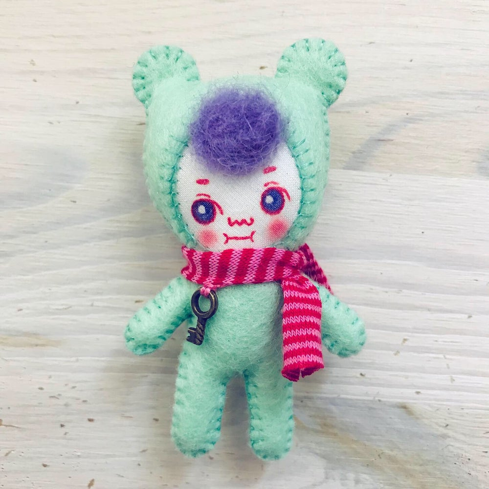Image of MiniBearCamille doll PREORDER
