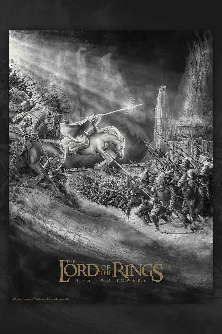 Image of Lord of the Rings - The Two Towers. (Regular edition)