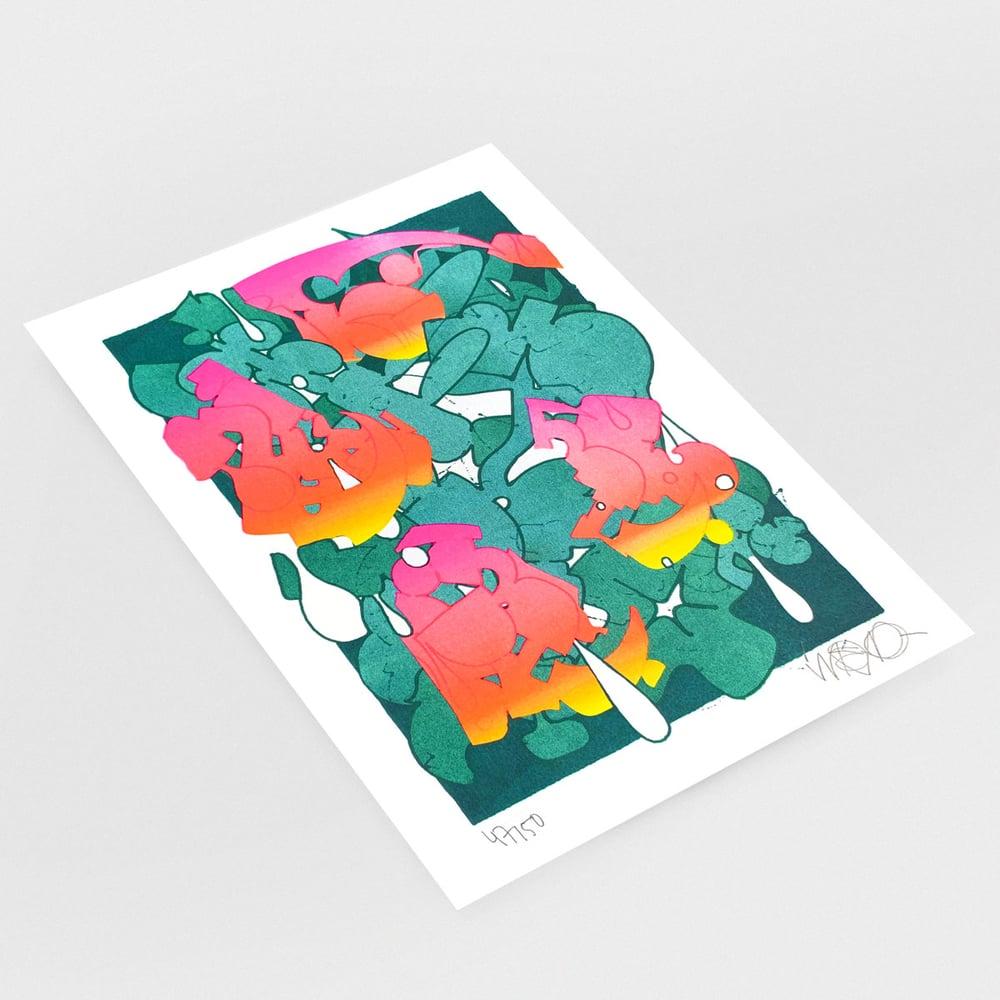 "Image of ""Gradient"" print"