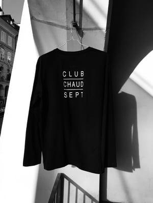 Longsleeve CLUB CHAUD SEPT - black