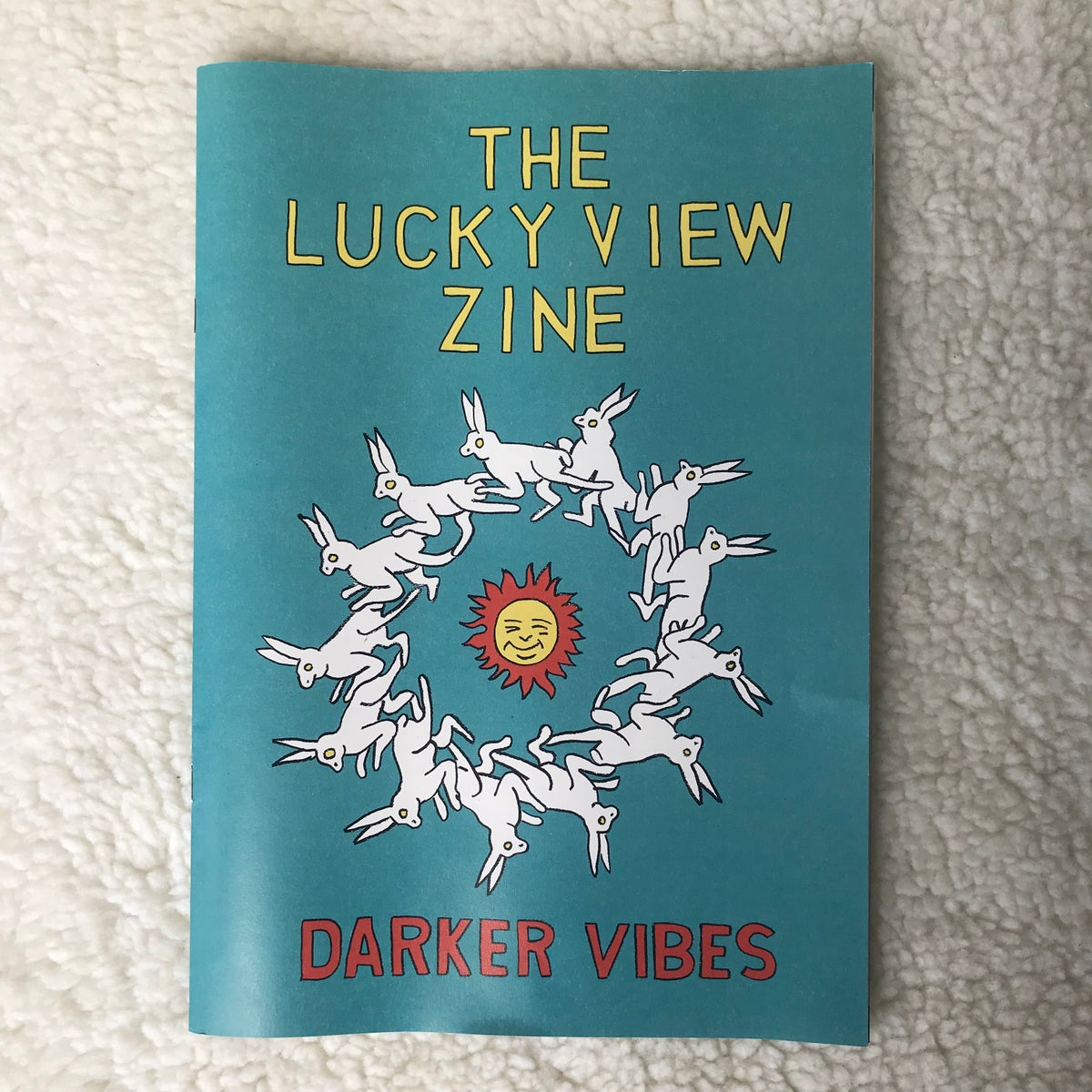 Image of THE LUCKY VIEW ZINE -DARKER VIBES-