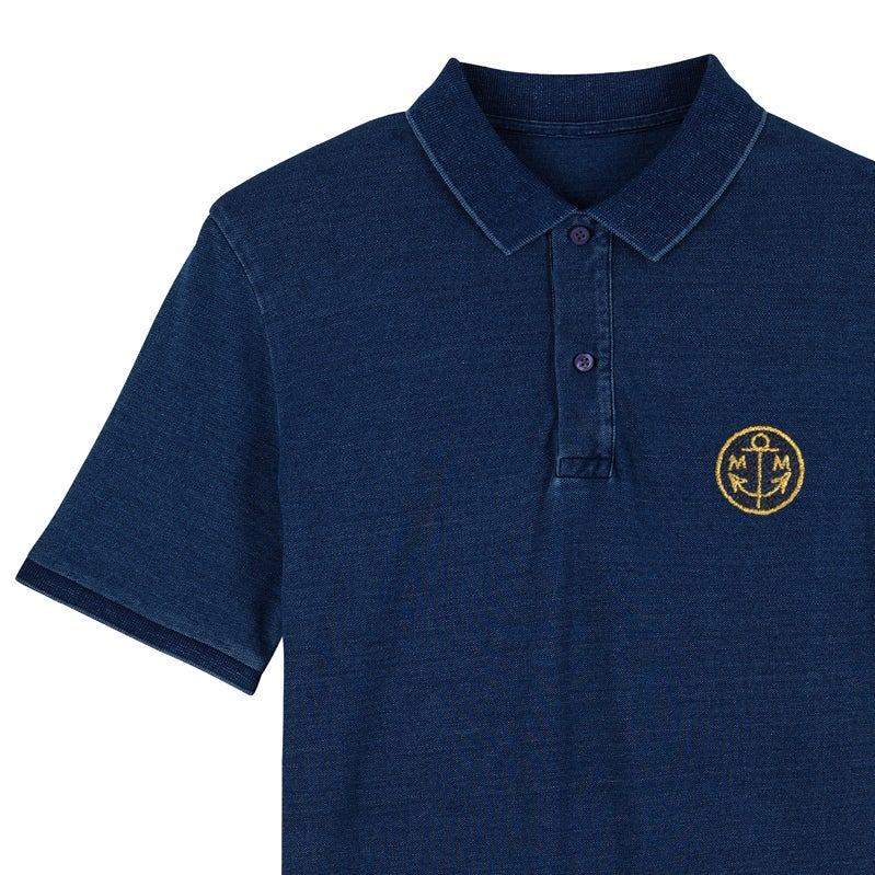Image of Polo Homme Navy