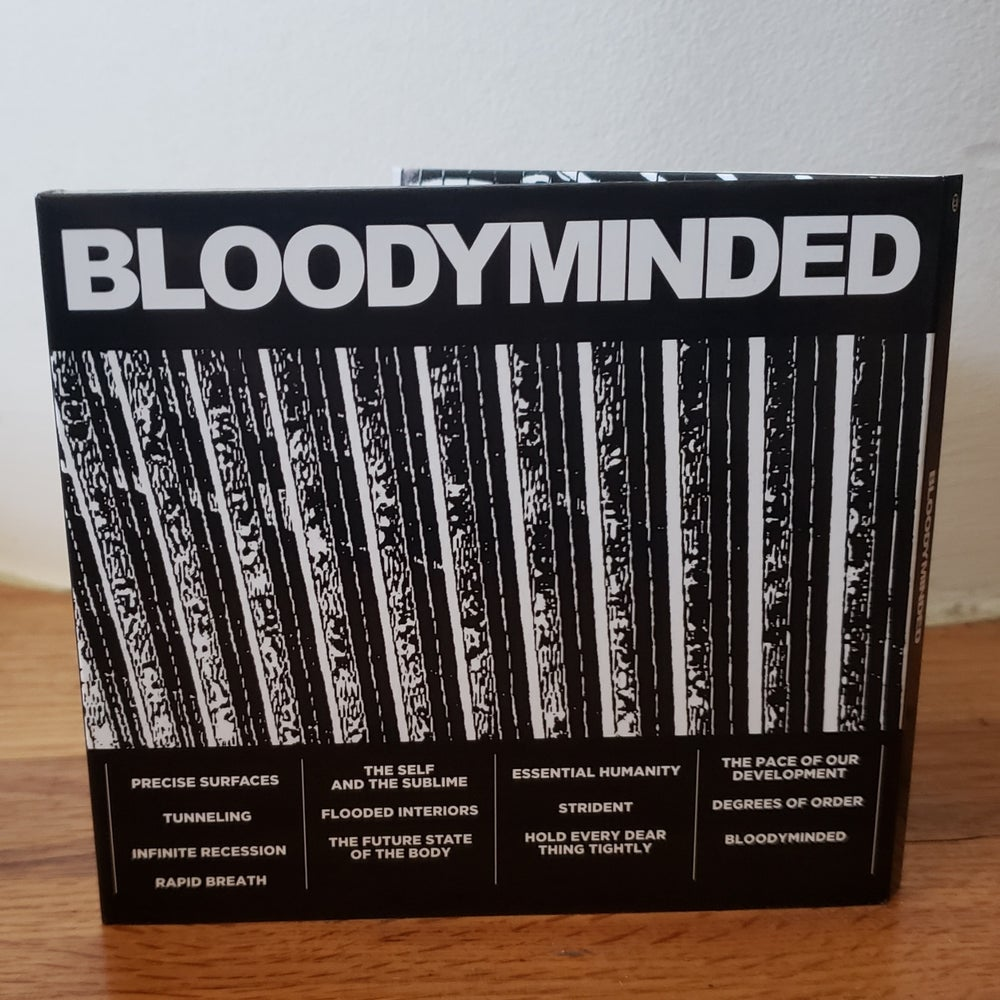 "BLOODYMINDED ""BLOODYMINDED"" CD in 8-panel digipak"