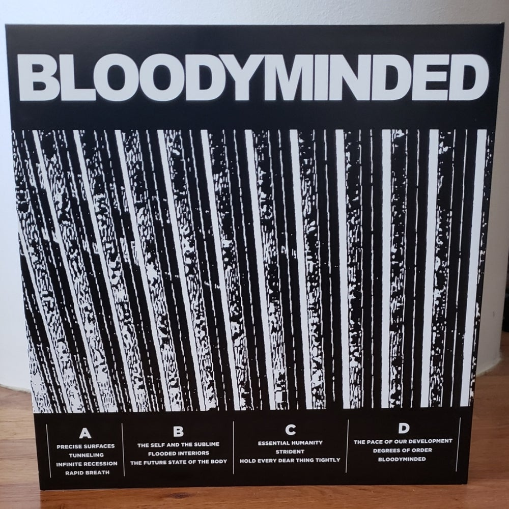 "BLOODYMINDED ""BLOODYMINDED"" 2xLP in gatefold jacket"
