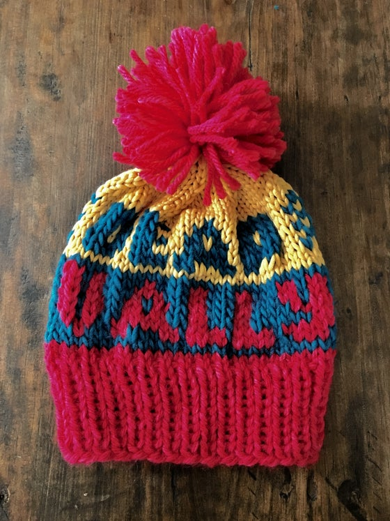 Image of Deap Vally Hats - Knit by the Band