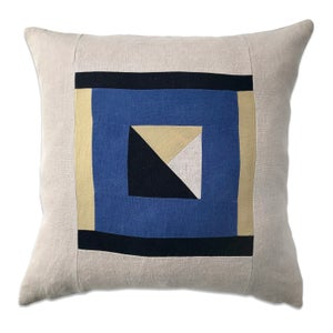 Image of GRAPHIC COLLAGE PILLOW #3