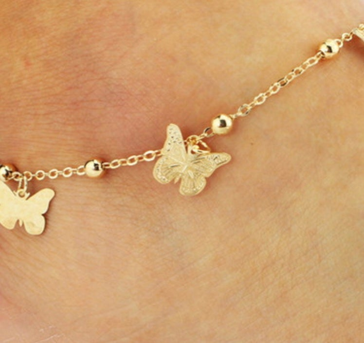"Image of ""Rebirth "" Anklet 🦋"