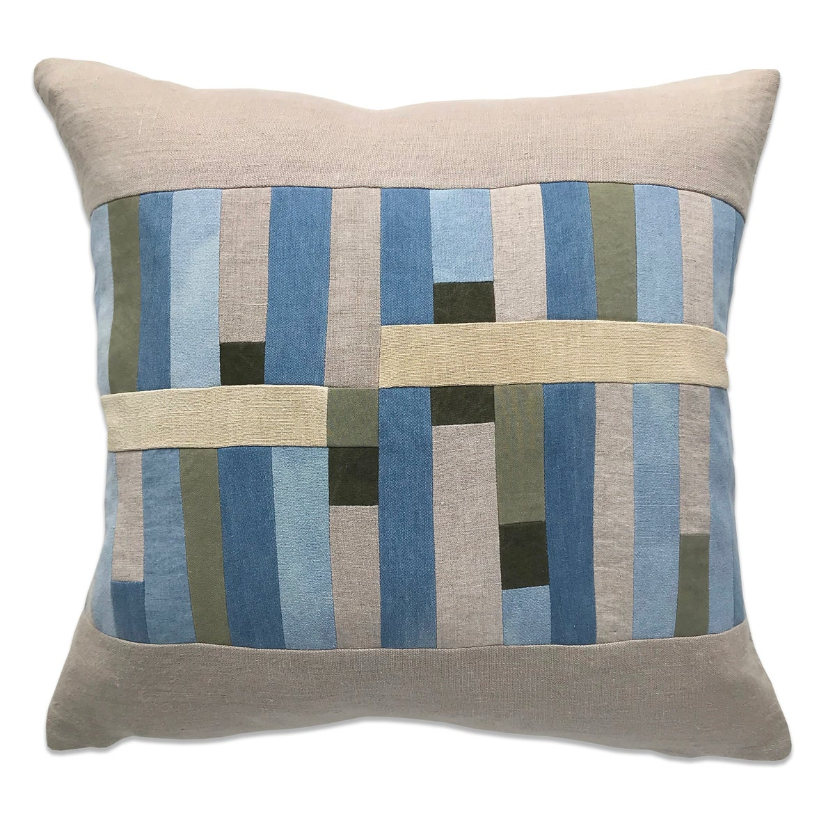 Image of GRAPHIC COLLAGE PILLOW #4