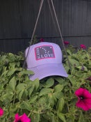 Image of Trucker Hat- Periwinkle