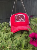 Image of Trucker Hat-Red