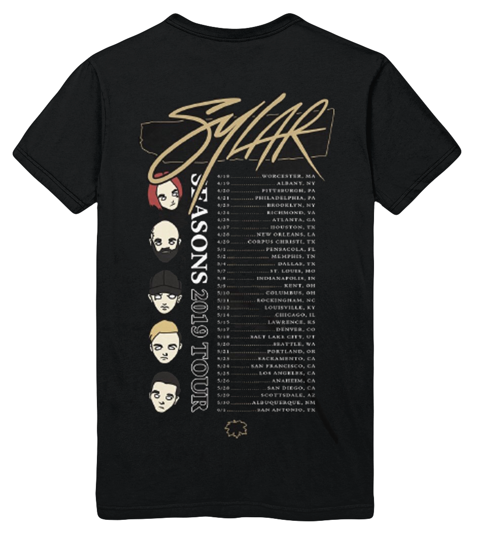 Image of Sylar Seasons Tour Tee