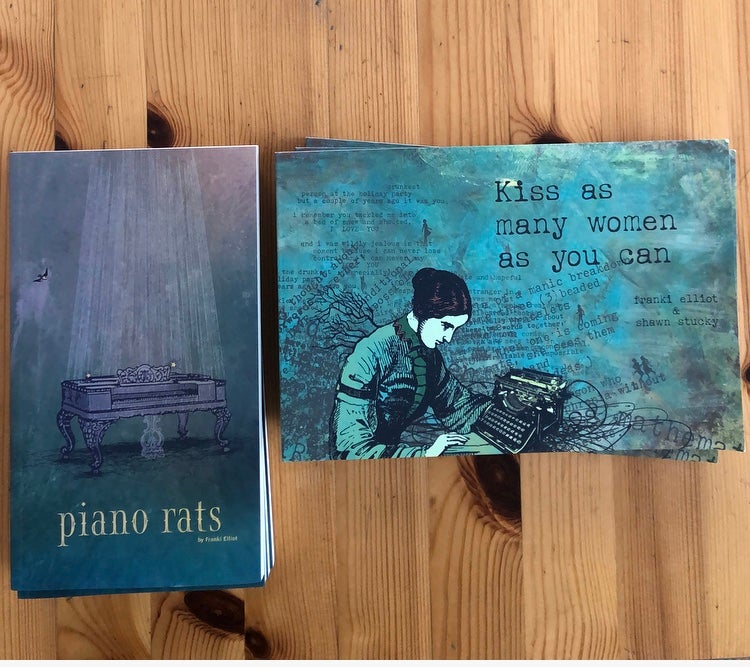 Image of Piano Rats + Kiss As Many Women As You Can ($30 value)