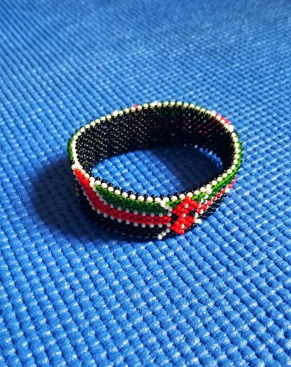 Image of Double sided Kenyan bracelet