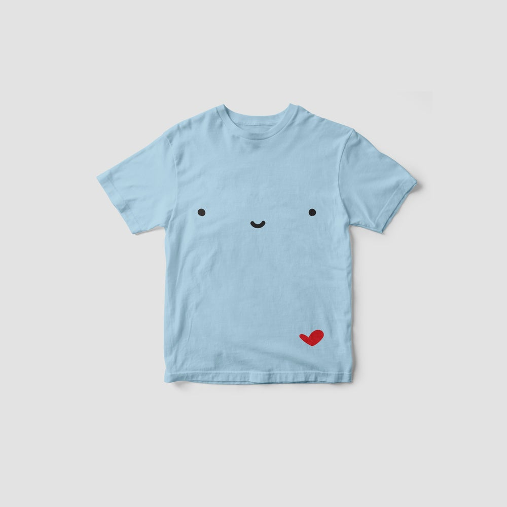 Image of ANDIE BEAR t-shirt (pale blue)