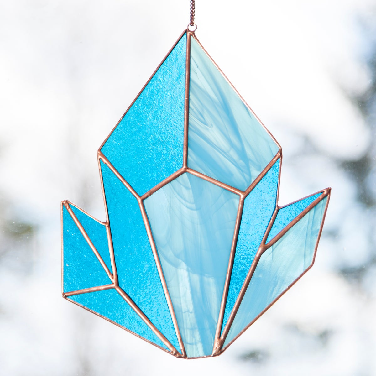 Image of Crystal Cluster Sun Catchers