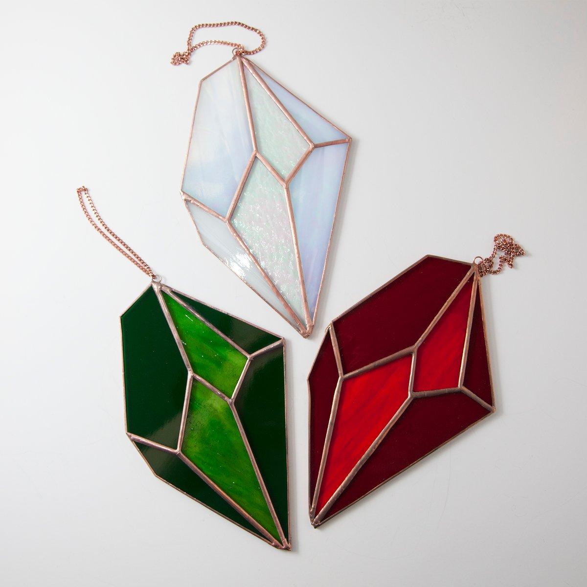 Image of Glittering Gems Crystal Sun Catchers