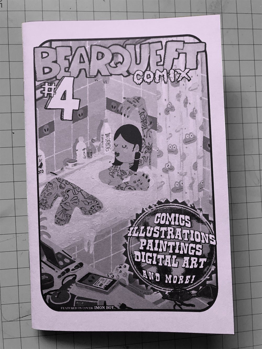 Image of Bearqueft Comix - Issue #4