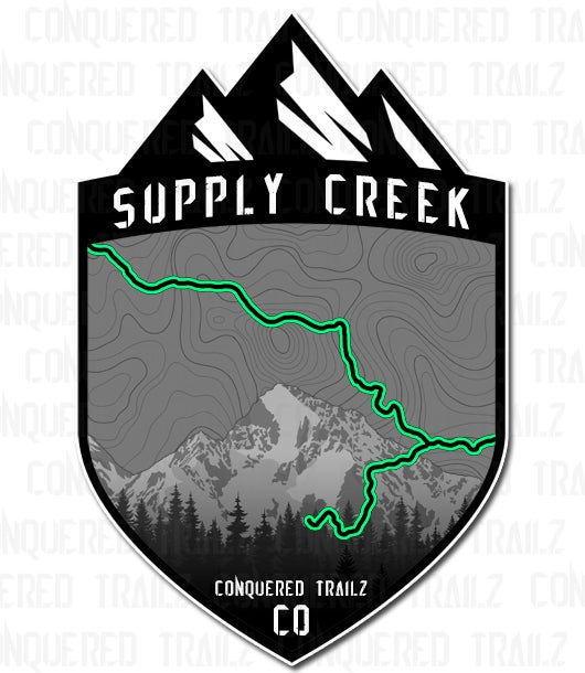 "Image of ""Supply Creek"" Trail Badge"