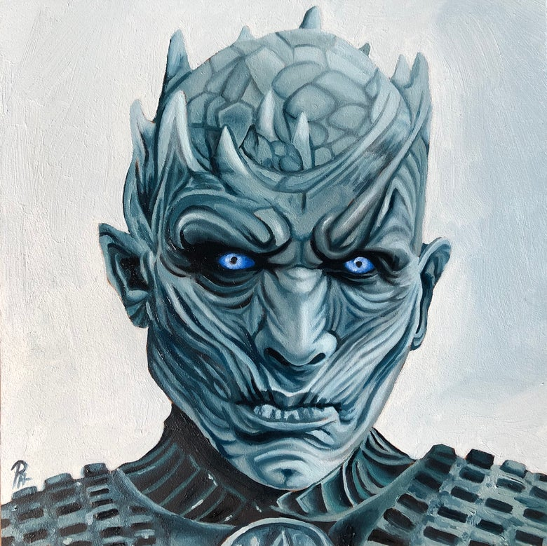 Image of The Night King (original oil painting)