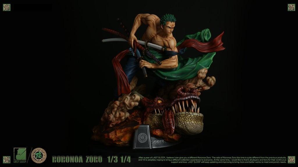 Image of One Piece Last Sleep Studio 1:3 Roronoa Zoro Resin Statue