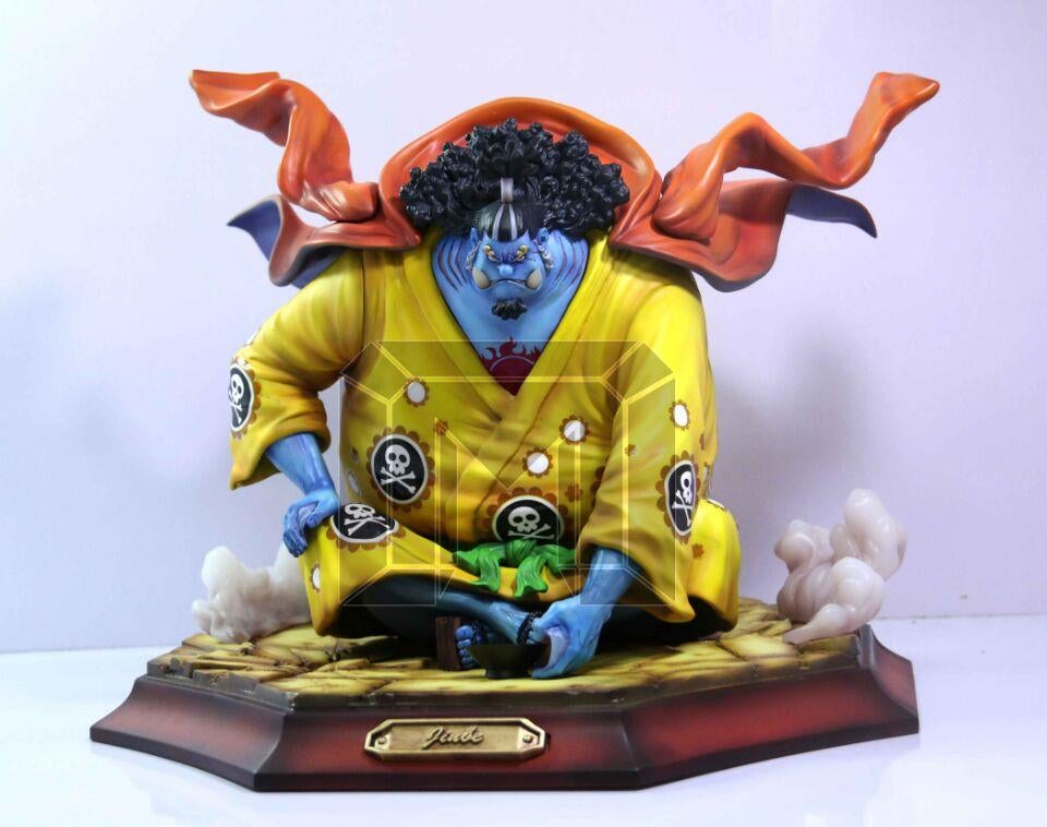 Image of One Piece Model Palace Studio Shichibukai Jinbe Resin Statue