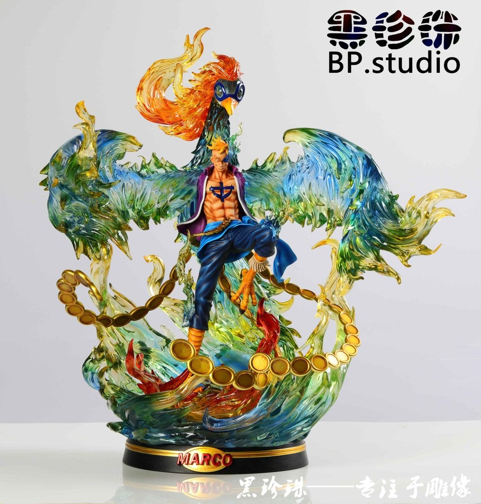 Image of One Piece Black Pearl Studio Marco Resin Statue