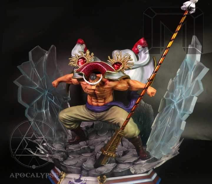 Image of One Piece Model Palace X Apocalypse Studio Whitebeard Resin Statue