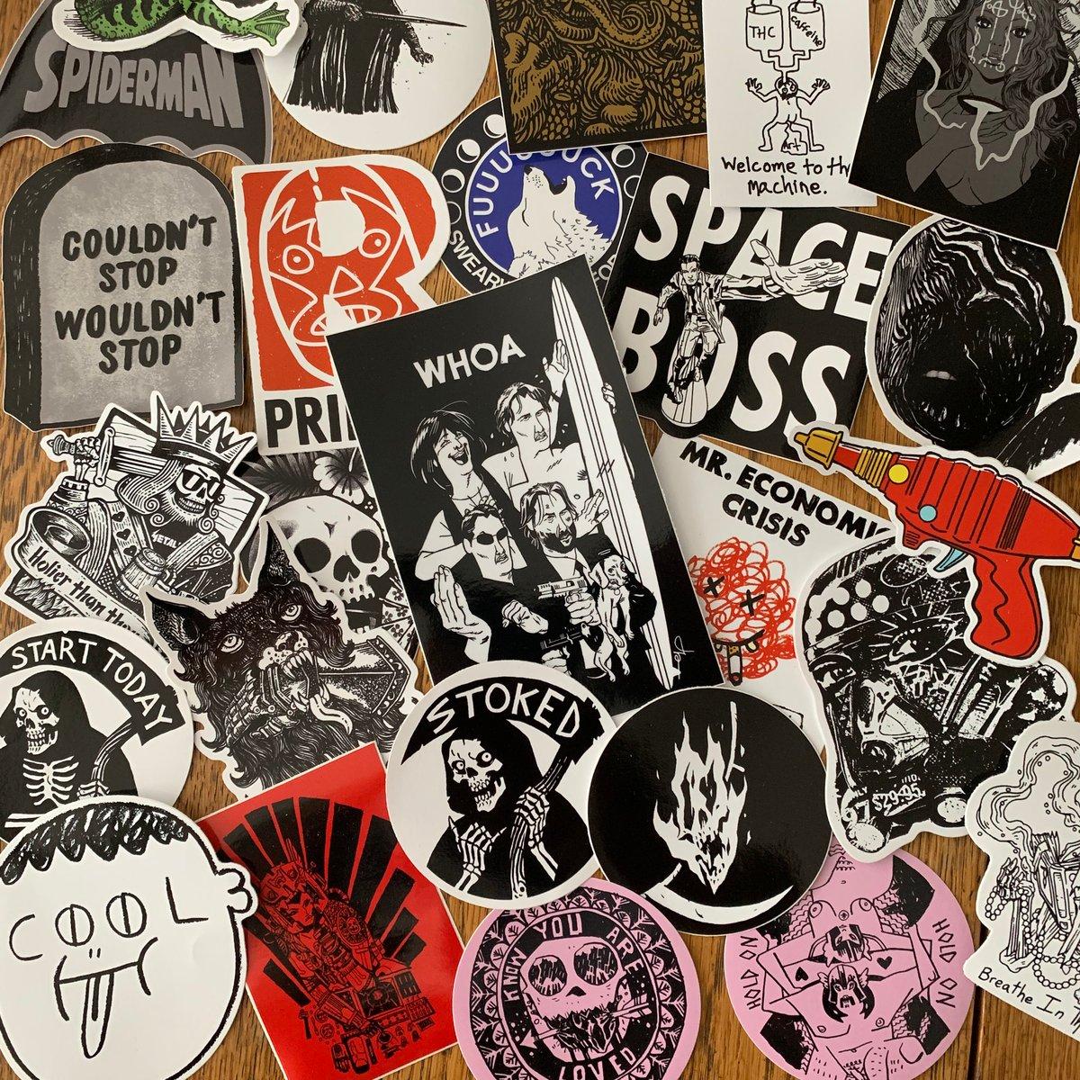 Image of BIG BADBOY BARRY STICKER PACK *15 Stickers*