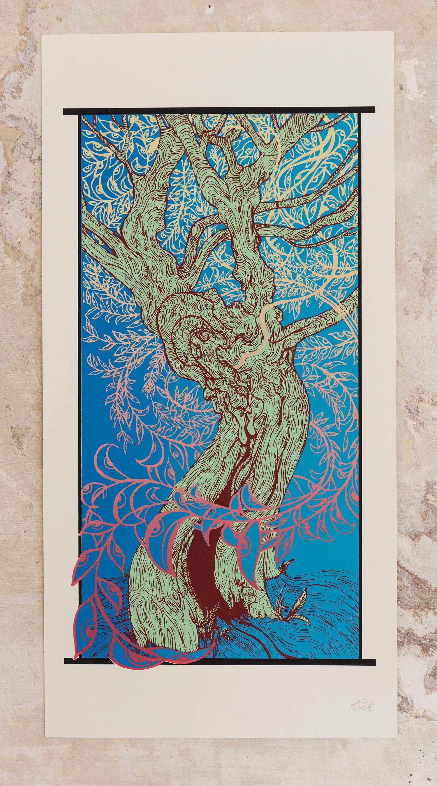 Image of BONSAI - art print - Samsara blues Experiment