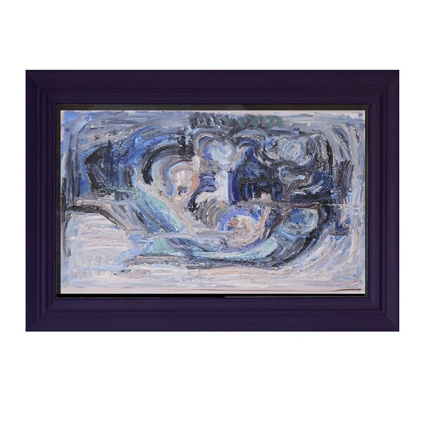 Image of Swedish, 20th Century, Blue Abstract