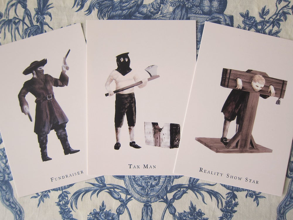 Image of Eighteenth Century Work in London: postcards