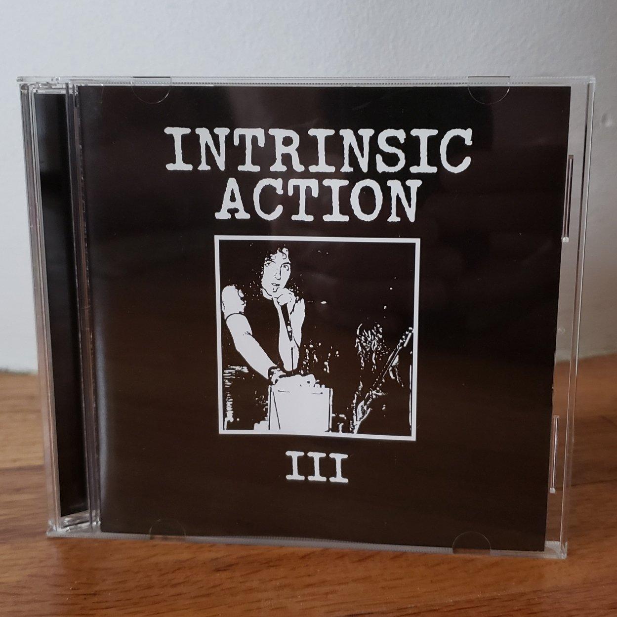 "Image of B!050 Intrinsic Action ""III"" CD"