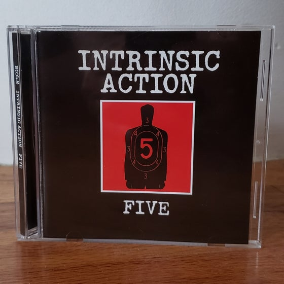 """Image of B!048 Intrinsic Action """"Five"""" CD"""