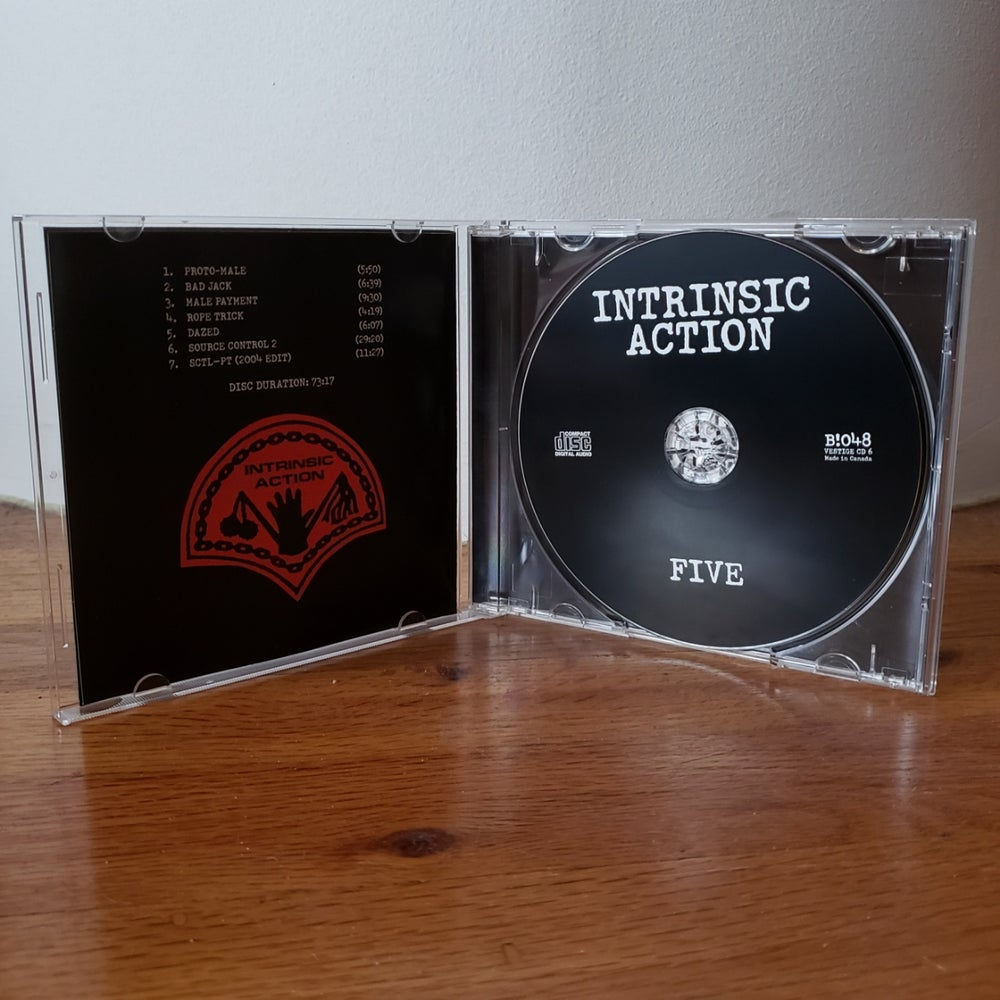 "Image of B!048 Intrinsic Action ""Five"" CD"