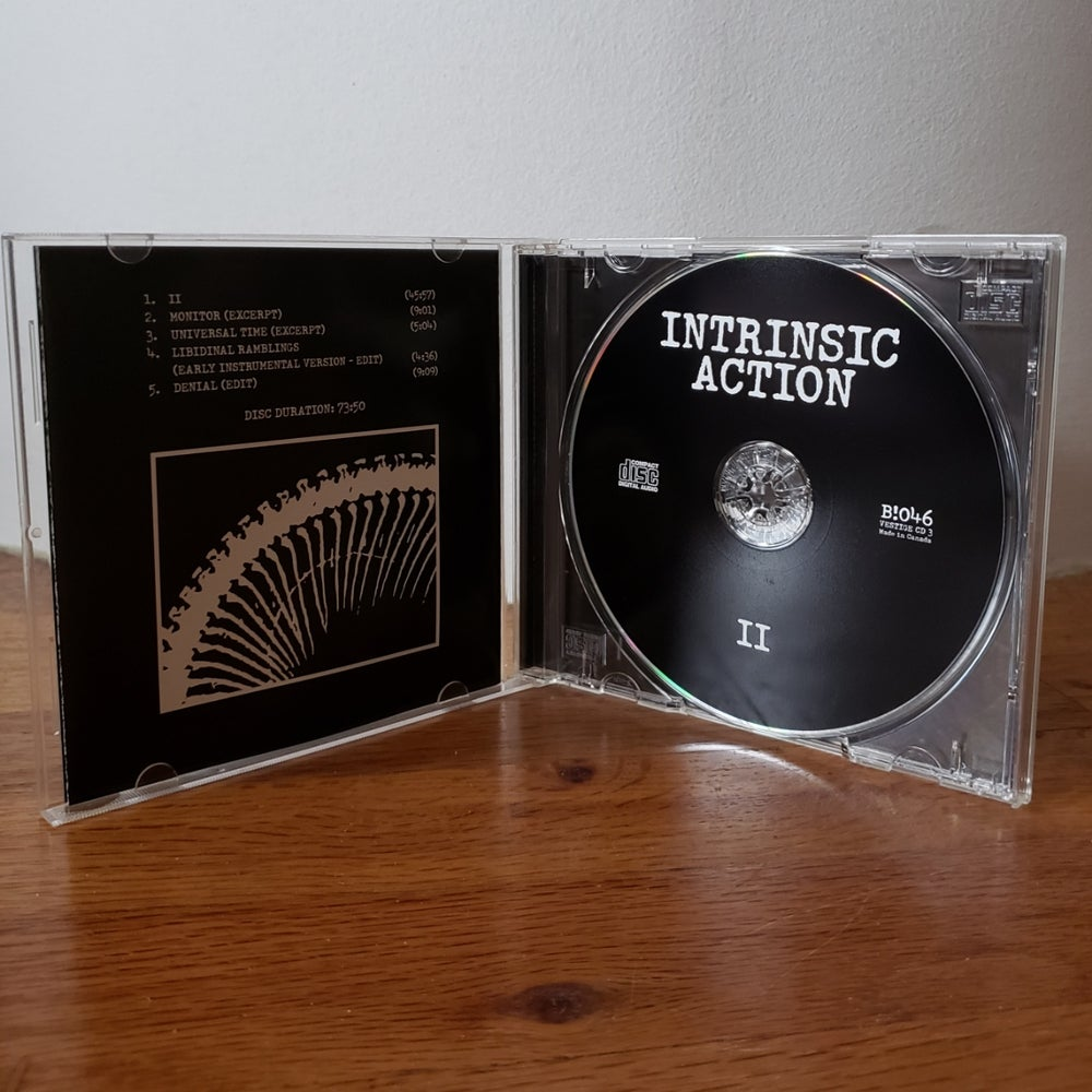 "Image of B!046 Intrinsic Action ""II"" CD"