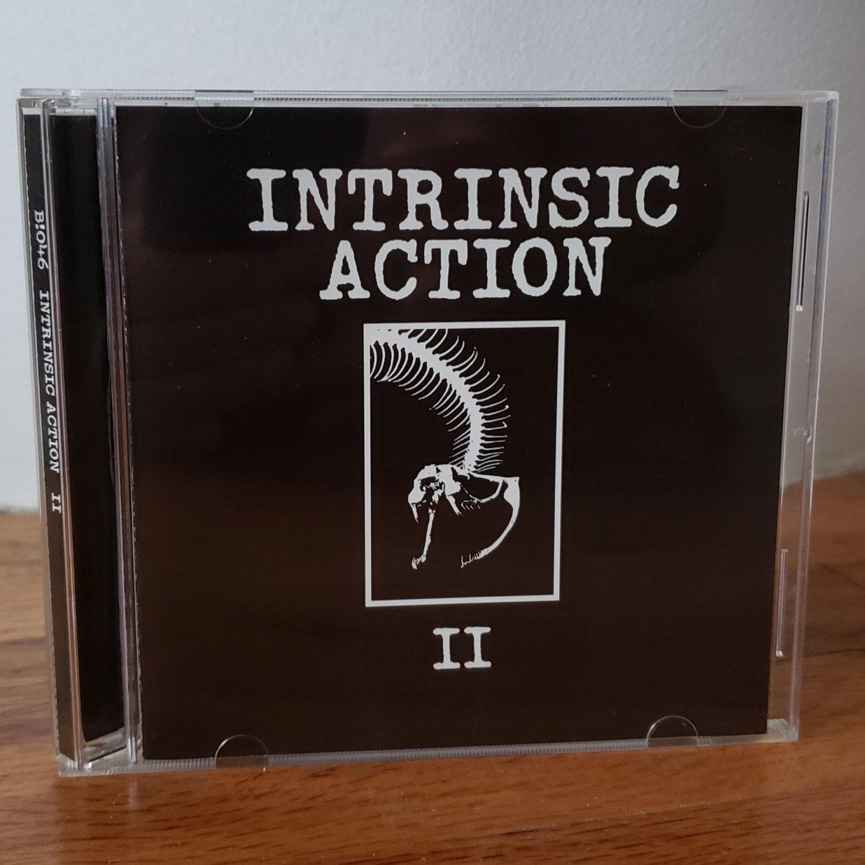 "Image of B!046 Intrinsic Action ""II"" CD"