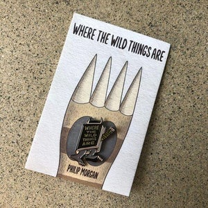 Image of ' Where The Wild Things Are ' Enamel Pin Badge