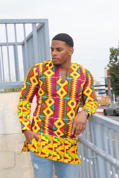 Image of The Kwesi Shirt - Kente