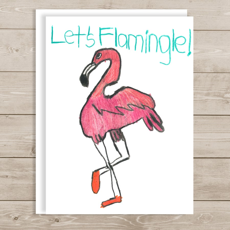 Image of Let's Flamingle